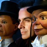 Copperfield with original Charlie McCarthy puppets.