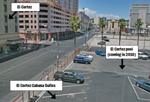 Cabana Suites / El Cortez pool site