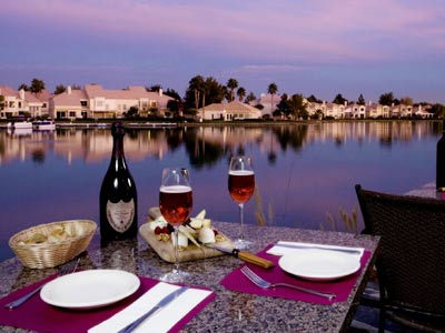 Marché Bacchus: restaurant with a view