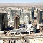 May 2009: Construction on CityCenter nears completion. Photo by CityCenter Land, LLC.
