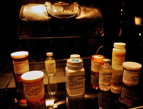 Prescriptions belonging to Elvis