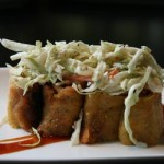 Pulled pork eggrolls