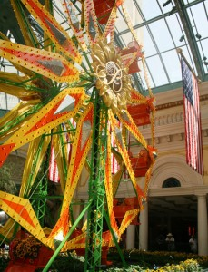 Ferris Wheel in the Bellagio Conservatory
