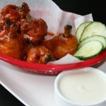 Lollipop Buffalo wings