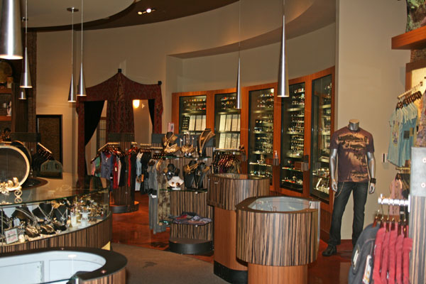 Club Tattoo features a full boutique of clothing and jewelry. Photo by Howard Freeman