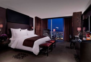 Standard room in the Hard Rock Paradise Tower.