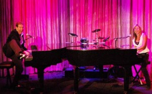 Dueling Pianos at the Salute Lounge in Palazzo