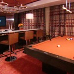 Penthouse Suite with pool table