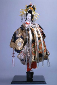 Doll depicting Kabuki perfromer