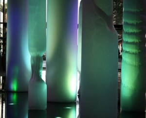 The Glacia feature at Crystals