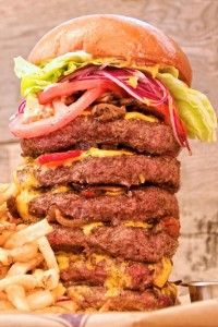 Extreme Burger at LBS: A Burger Joint