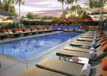 Bare pool club at the Mirage