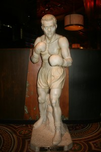 Joe Louis statue at Caesars Palace