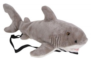 Mandalay Bay Shark Reef plush backpack