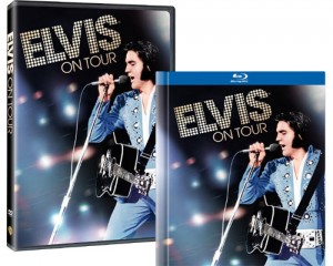 "For the first time on Blu-ray™ and DVD, get ""Elvis on Tour"" August 3."