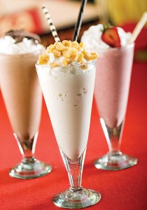 Captain Crunch milkshake