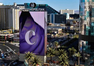 The Cosmopolitan marquee.