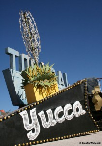 The Yucca Motel neon sign