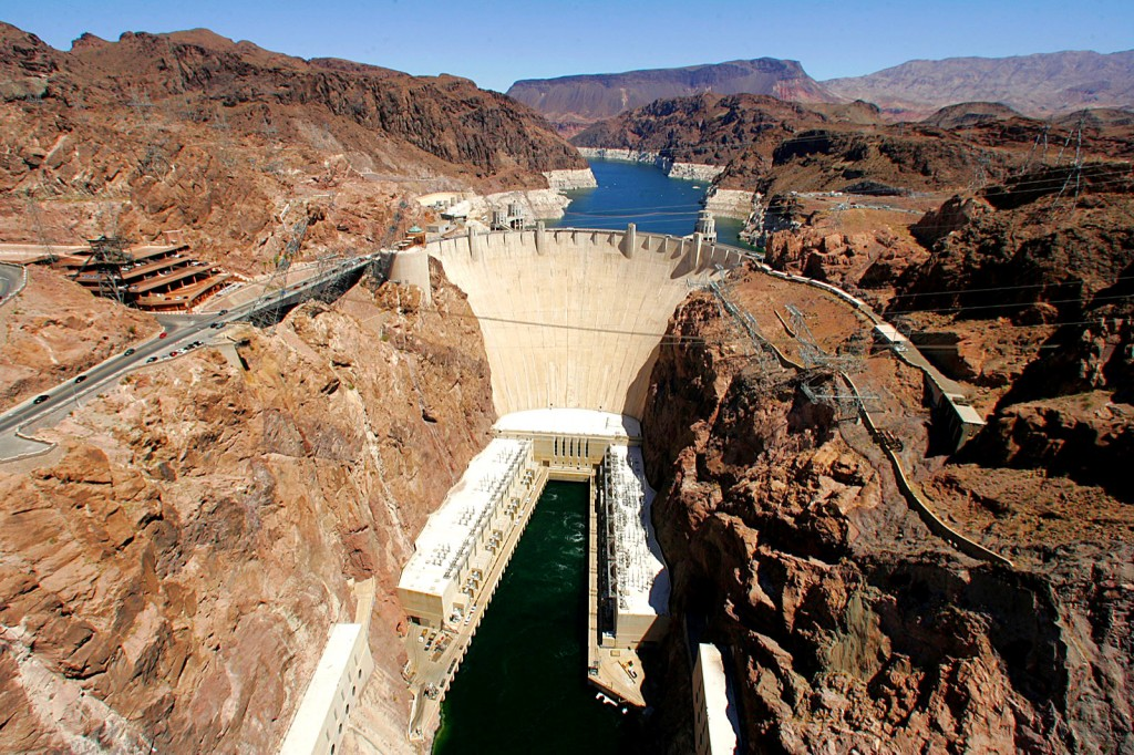 Hoover Dam and the Mike O'Callaghan-Pat Tillman Memorial Bridge are two of the biggest engineering marvels in the Western Hemisphere. The dam was dedicated on Sept. 30, 1935. The bridge was dedicated 75 years later on Oct. 16.
