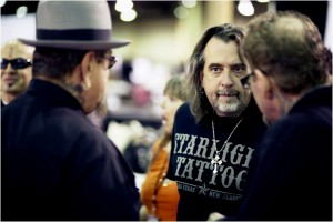 Photo by Michael Sterling Eaton: Mario Barth, center, has two tattoo shops in Vegas and runs The Biggest Tattoo Show on Earth, but he's still not done with Sin City.