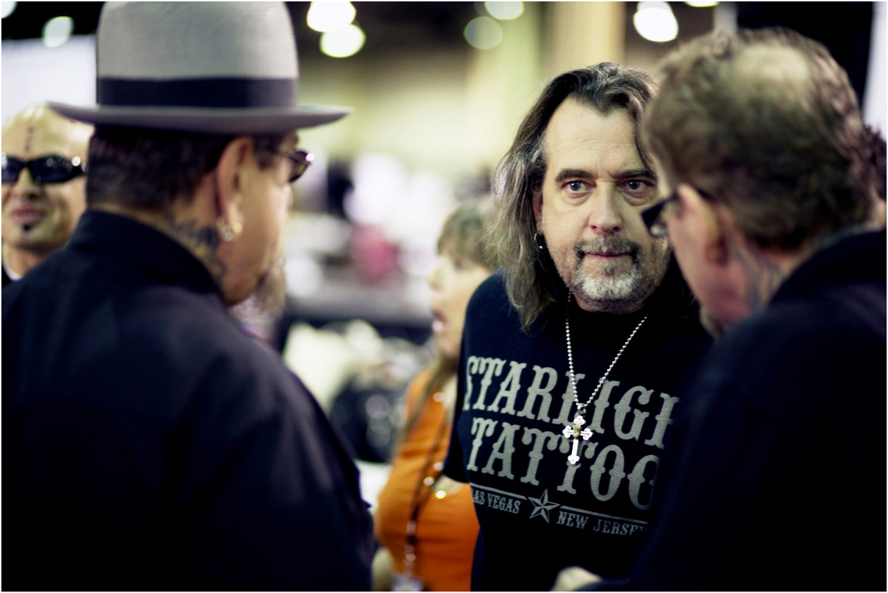 ... tattoo shops in Vegas and runs The Biggest Tattoo Show on Earth, but