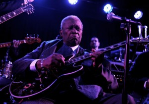 B.B. King at his Blues Club Las Vegas