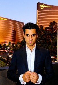 Resident magician Shimshi astounds guests at Wynn Las Vegas.