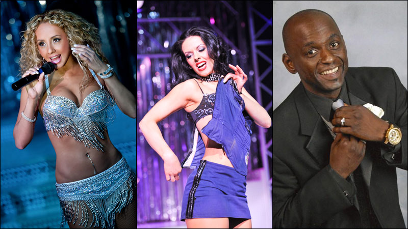 Performers in Fantasy at Luxor