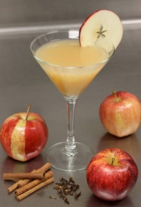 Apple Cider Manhattan from N9NE Group at the Palms