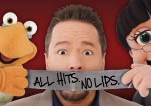Terry Fator performing at the Mirage.