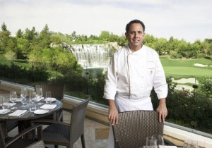 Chef Carlos Guia, on The Country Club patio