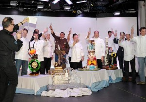 Chef's toast to Vegas Uncork'd events