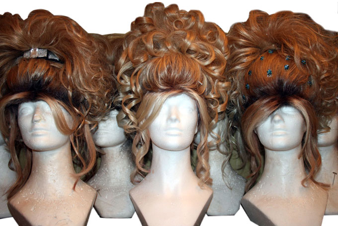 "Performer Frank Marino uses a variety of wigs in ""Divas Las Vegas."""