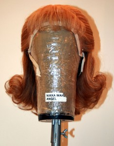 "A wig worn for ""My Boyfriend's Back"" featuring The Angels in ""Jersey Boys"" at The Palazzo."