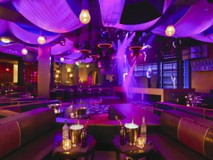The inside of the newly-opened Marquee Nightclub at the Cosmopolitan.
