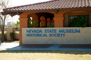 The Nevada State Museum at Lorenzi Park.