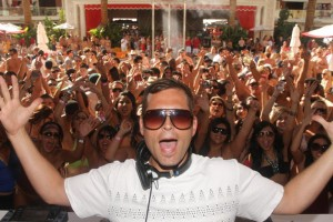 Kaskade, above, who served as resident DJ at Encore Beach Club during the summer, was named Resdient DJ of the Year recently by Nightclub & Bar Magazine.