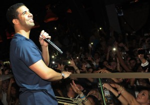 Hip-hop star Drake performs during the grand opening party at Chateau Nightclub & Garden at Paris Las Vegas.