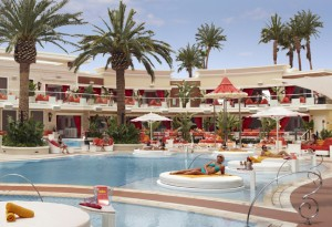Olympic swimmer Michael Phelps hosts the grand opening of Encore Beach Club on April 16.