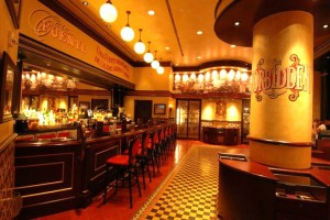 Casa Fuente inside the Forum Shops at Caesars Palace features premium liquor and hand-rolled cigars.