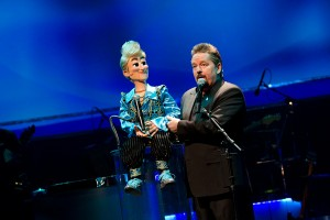 Ventriloquist Terry Fator is known for his comedic wit and his impersonations of famed singers, channeled through his puppets, such as his newest one Barry Fabulous.