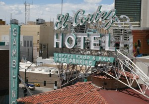 The El Cortez sign, 2011.