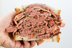 Carnegie Deli's sandwiches satisfy any appetite