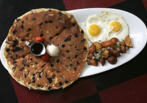 Larger portions make restaurants like Hash House A Go Go a good value.