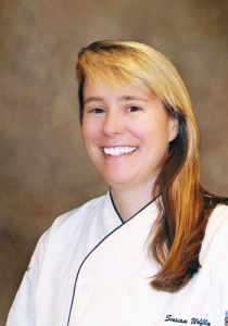 Susan Wolfla, executive chef of Mandalay Bay, oversees a culinary team of more than 500.