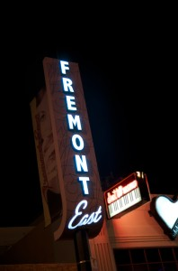 Fremont East blends the best of both worlds, mixing the retro and the modern