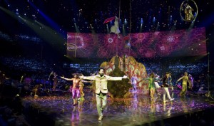 Set to the iconic music of the Beatles, LOVE by Cirque du Soleil takes guests back into the '60s with dazzling colors, stunning acrobatics and dance routines. LOVE  performs twice a night, 7 and 9:30 p.m., Thursday-Monday at the Mirage. Tickets start at $117.85.