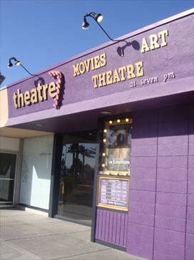 Las Vegas' first art house, theatre7, is located in the downtown arts district.