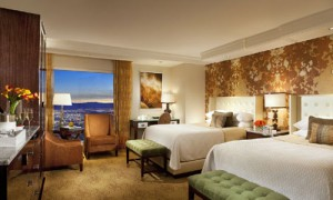 Redesigned room at Bellagio.