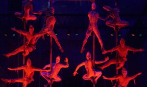 Cique du Soleil's Mystere performs Saturday-Wednesday at 7 and 9:30 p.m. Tickets start at $63.99.